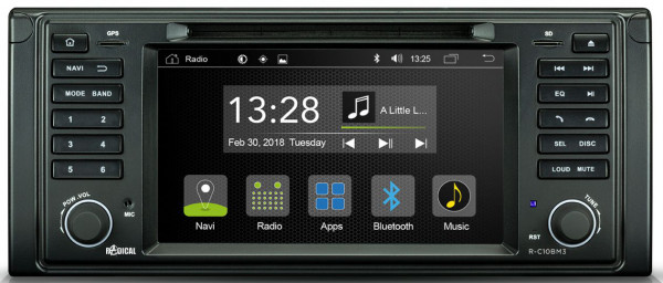 Radical R-C10BM3 BMW 5er Radio Navigation