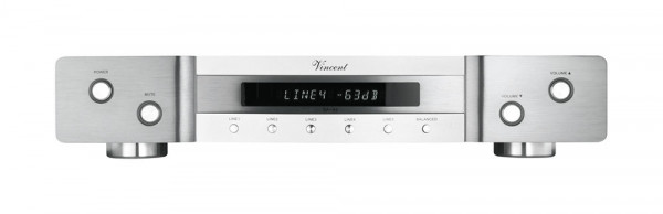 Vincent SA-94 silber Stereo Vorstufe