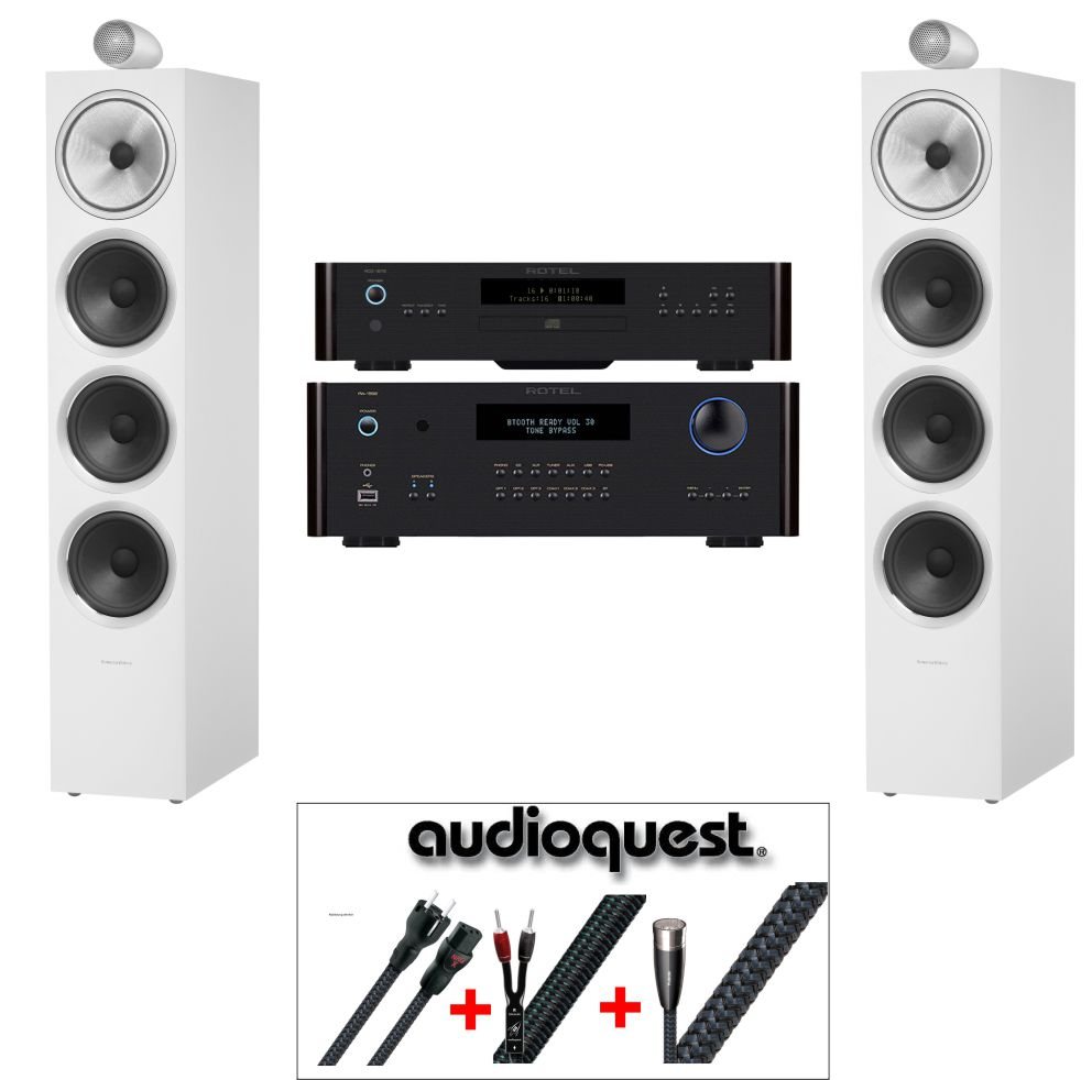 b w 702 rotel audioquest testsieger paket hifi finanzieren. Black Bedroom Furniture Sets. Home Design Ideas
