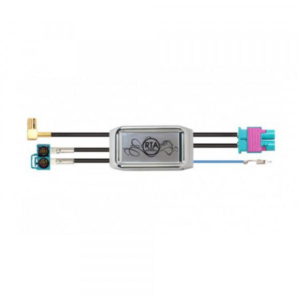 RTA 206.052-0 Antennensignal Splitter AM/FM und DAB+ Fakra auf Fakra
