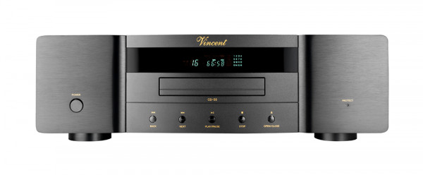 Vincent CD-S5 CD-Player schwarz