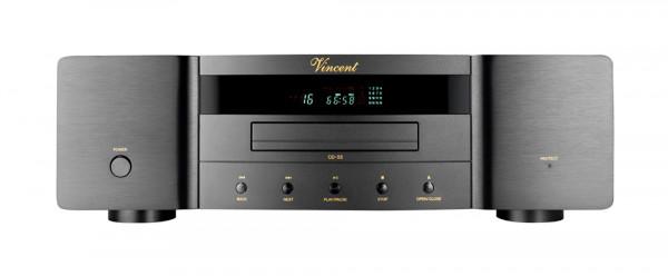 Vincent CD-S5 CD-Player schwarz
