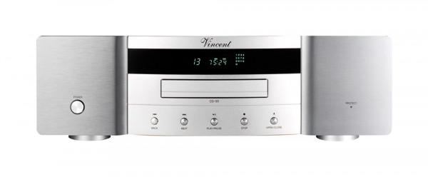 Vincent CD-S5 CD-Player silber