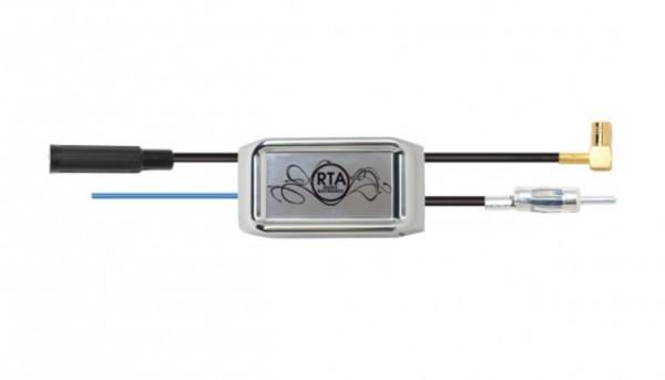 RTA 206.050-0 Antennensignal Splitter AM/FM und DAB+ DIN-ISO