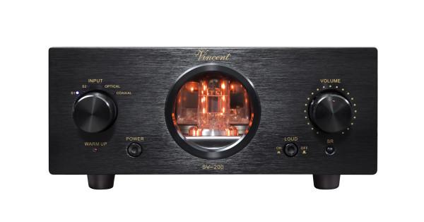 Vincent SV-200 Stereo Vollverstärker schwarz