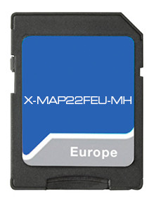 Xzent X-MAP22FEU-MH Navigation Karte für Xzent X-422