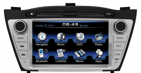 ESX VN720-HY-IX35 Navigation Hyundai iX35