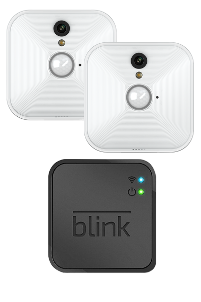 Blink Kamera Set 1xModul 2x Kamera Home