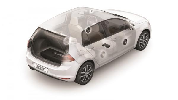 Audison APSP G7 VW Golf 7 Soundsystem