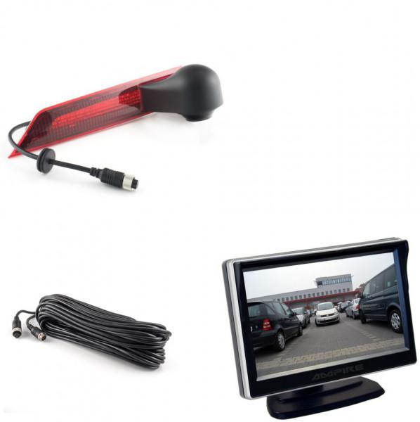 Ampire Rückfahrkamera Monitor Set Ford Transit Custom / LED Rücklicht