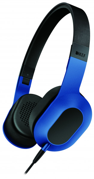 KEF M400 Kopfhörer Racing Blue