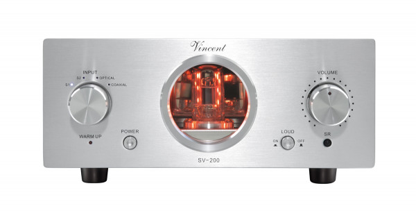 Vincent SV-200 Stereo Vollverstärker silber