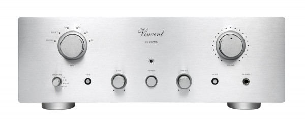 Vincent SV-227MK silber Hyprid Stereo Vollverstärker