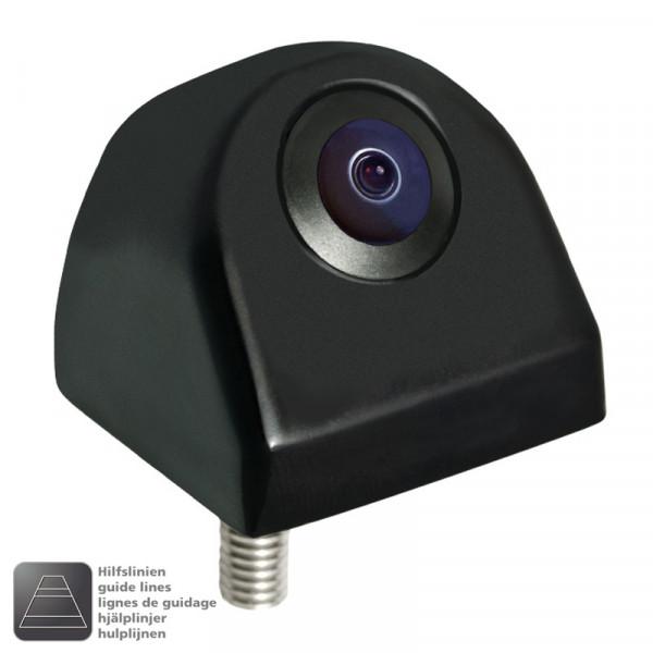 Ampire KCR802 Rückfahrkamera Aufbau gespiegelt normal Hilfslinien ein aus