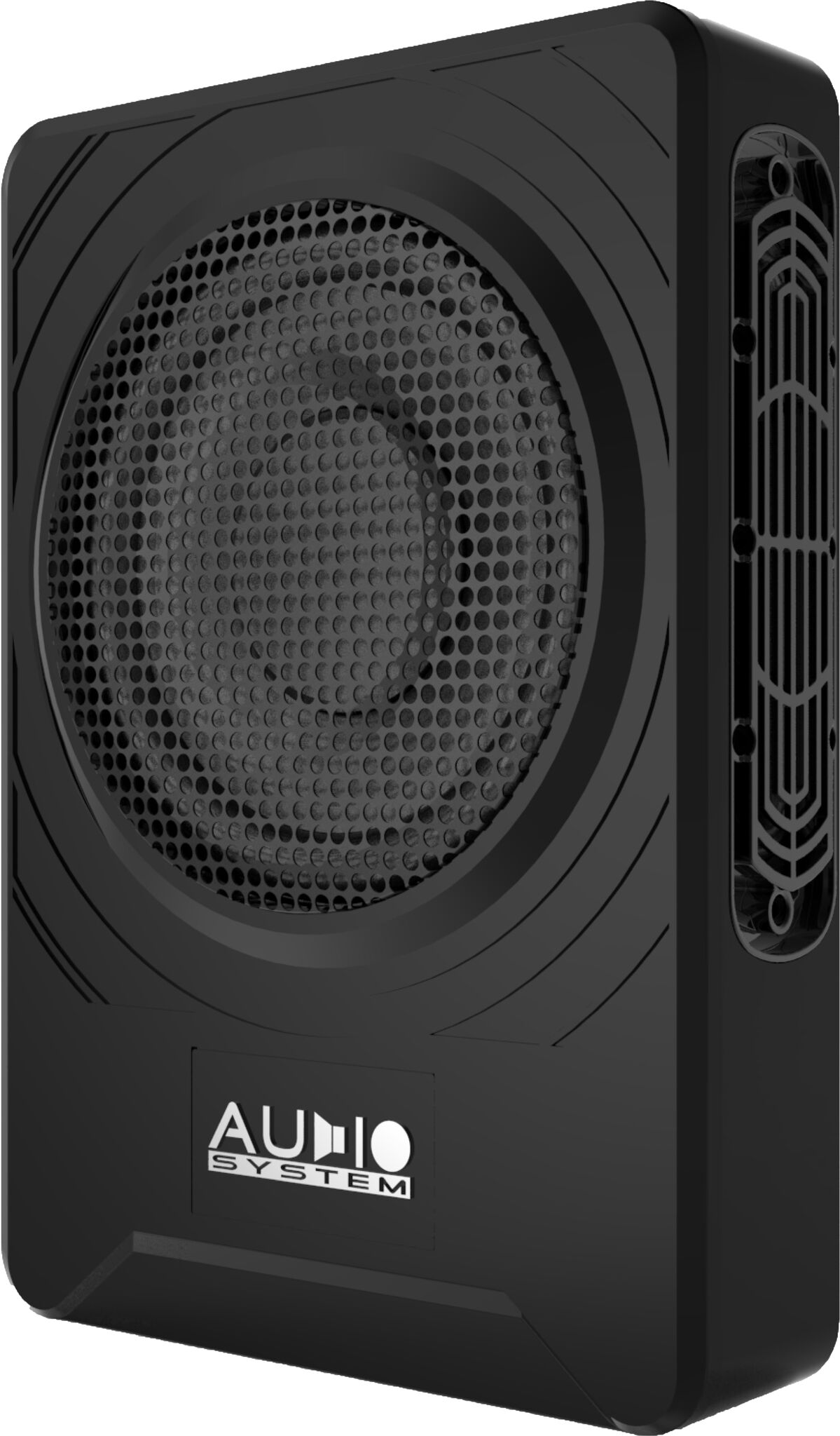 audio system us08 aktiv subwoofer flach untersitz acr. Black Bedroom Furniture Sets. Home Design Ideas