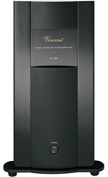 Vincent SP-998 schwarz Mono Endstufe
