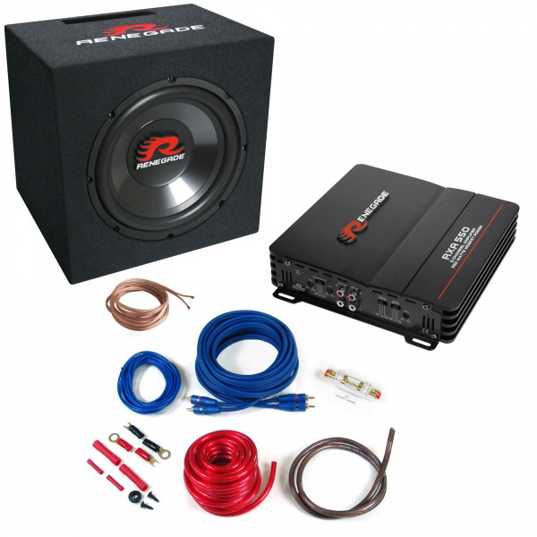 Renegade RBK550XL Soundpaket mit Kabelsatz