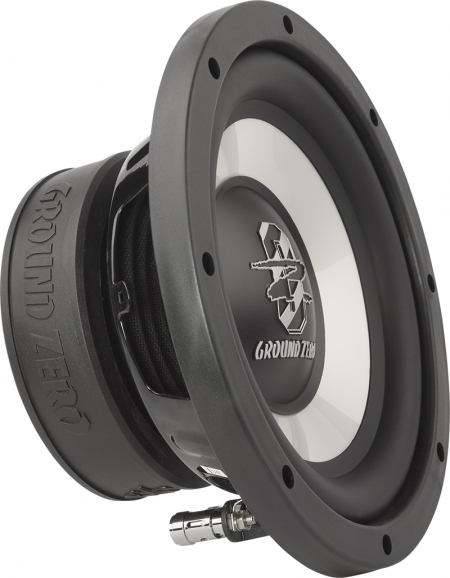 ground zero gziw200x 20cm 8 zoll subwoofer bass ground. Black Bedroom Furniture Sets. Home Design Ideas